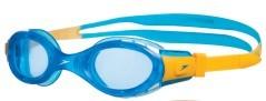 Occhialini Bambino Futura Biofuse Google arancio azzurro