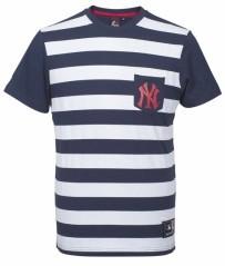 T-Shirt Uomo Unspar Stripe Poc blu bianco
