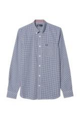 Camicia Uomo Vichy blu