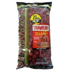 Boilies Strawberry Blast rosso