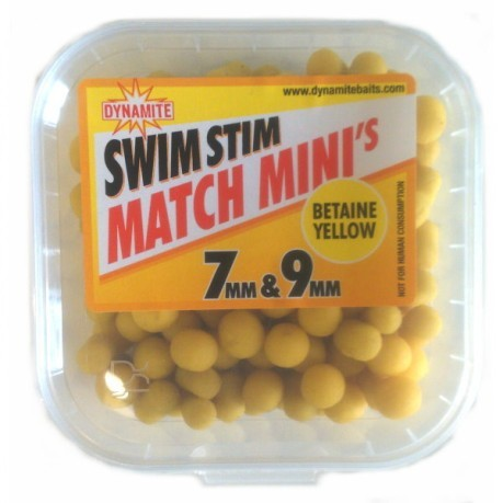 Mini Boilies Swim Stim Match