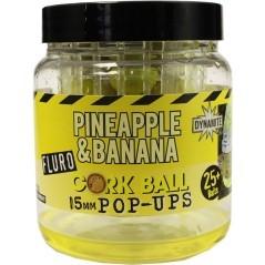 Pop Ups Cork Ball Pineapple & Banana giallo