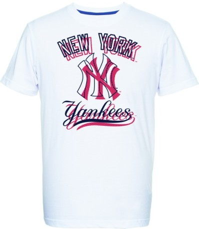 T-Shirt Uomo Therma Yankees bianco rosso
