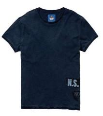 T-Shirt Uomo Indigo blu