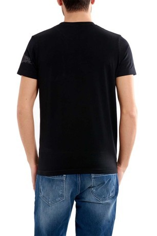 T-Shirt Stretch Scorpion Bay nero fronte