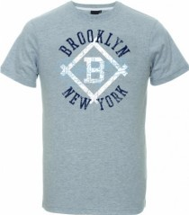 T-Shirt Uomo Therma Brooklin grigio