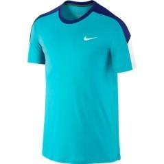 T-Shirt  Uomo Team Court Crew azzurro-blu