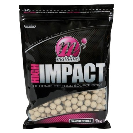 Boilies High Impact Pop Ups Diamond White