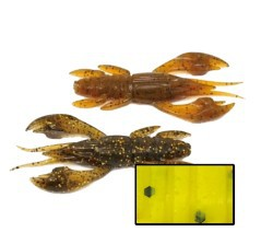 Esche Artificiali CrayFish marrone
