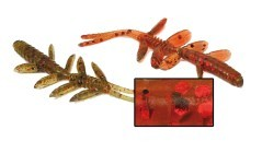 Esche Artificiali Water Shrimp marrone