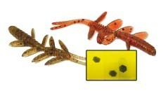 Esche Artificiali Water Shrimp marrone