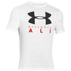 T-Shirt Uomo Ua Ali Sportstyle Stack grigio