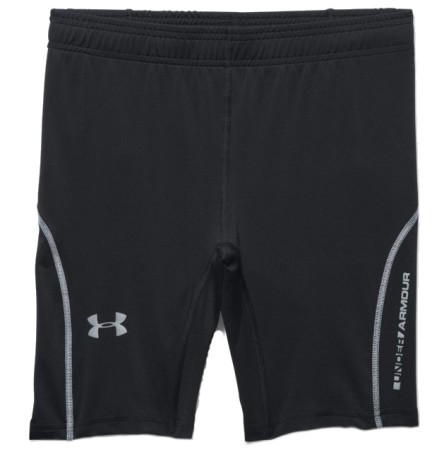 Short Uomo UA Cooswich Run Compression nero