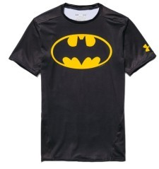 T-Shirt Uomo Alter Ego Compression SS Batman nero