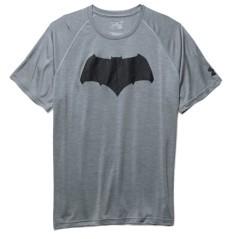 T-Shirt Uomo Batman Tech SS grigio nero