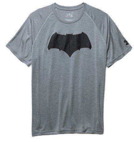08a7f20700a164 Men's T-Shirt Batman Tech SS colore Grey Black - Under Armour ...