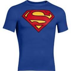 T-Shirt Uomo Alter Ego Comp SS Superman blu-rosso