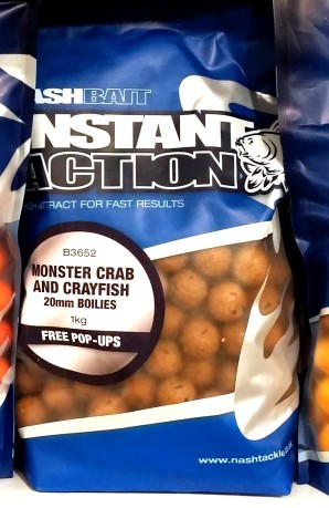 Boilies Istant Action Monster Crab
