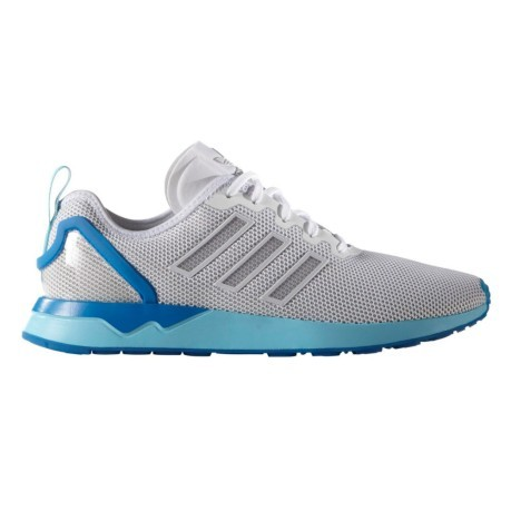best service a13e4 999d7 Shoes mens ZX Flux Racer white blue