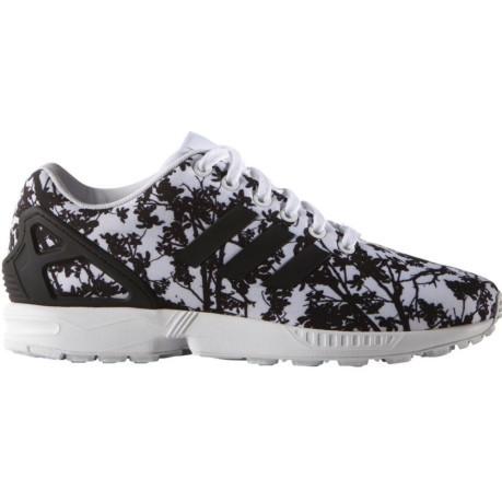 half off 050a3 6a490 Shoe Women s ZX Flux white black