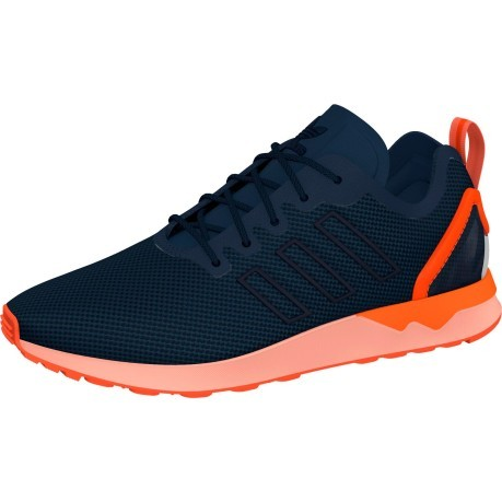 Adidas Zx Flux Blu E Arancio