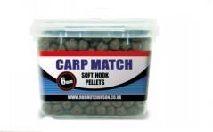 Pellet Carp Match Soft Hook marrone