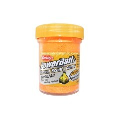 Pasta Powerbait Natural Scent Glitter Garlic arancio