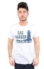 T-Shirt Uomo Montauk Point bianco