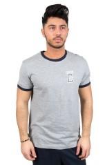 T-Shirt Uomo Gymnasium  grigio blu