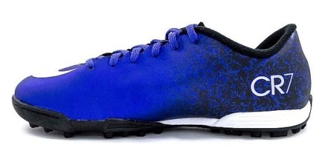 Scarpa Mercurial Vortex CR7 TF blu