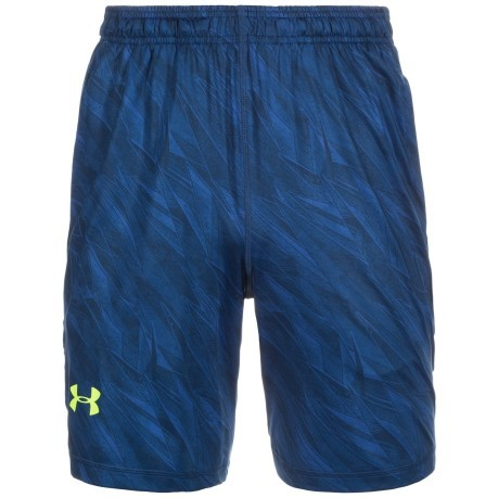 Short Uomo 8 in Raid Printed blu verde