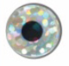 Holo Lure Eyes 5-7mm bianco