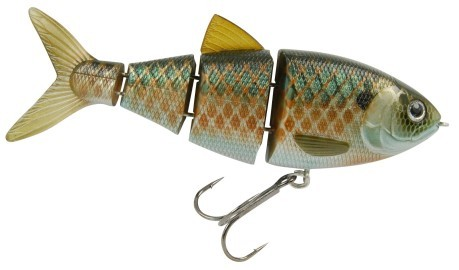 "Artificiale Swimbait BBZ-1 4"" Slow Sinking fantasia variante"