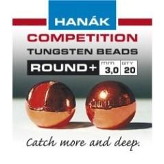 Tungsten Bead Round giallo