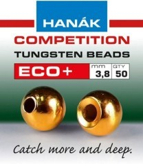 Tugsteno Bead Eco + 3,3mm giallo