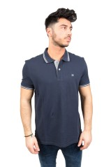 Polo Uomo Easy Fit blu