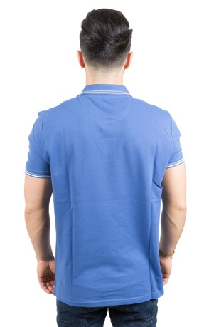 Polo Uomo Easy Fit blu variante 3