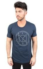T-Shirt Uomo Bollo blu