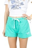 Shorts NY women's slub light purple