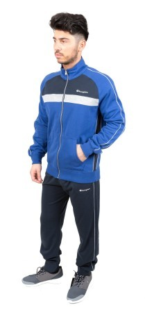Tuta Uomo Ultra Light Full Zip blu-blu