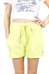 Shorts NY donna fiammato leggero viola