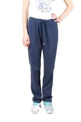 Pantalone Donna Classic Jersey Dritto blu