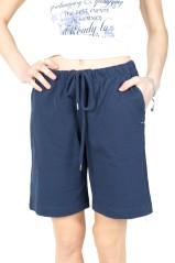 Bermuda Donna Classic Jersey blu