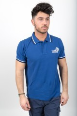 Polo Uomo New Zeland Fashion Replica blu variante 1