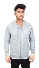 Men's sweatshirt Full Zip With Hood grey