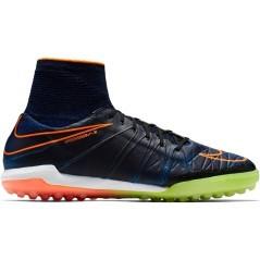 Scarpa Calcio Uomo HypervenomX Proximo TF blu arancio