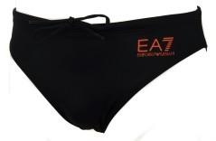 Slip da mare EA7 nero