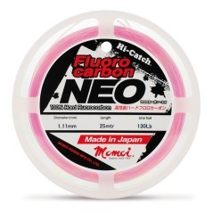 Filo Fluorocarbon Neo 80 Lb rosa