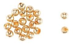 Tugsten Bead Round Slot Plus gold