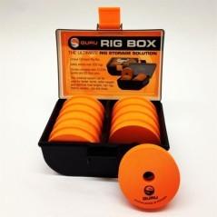 Rig Box nero-arancio